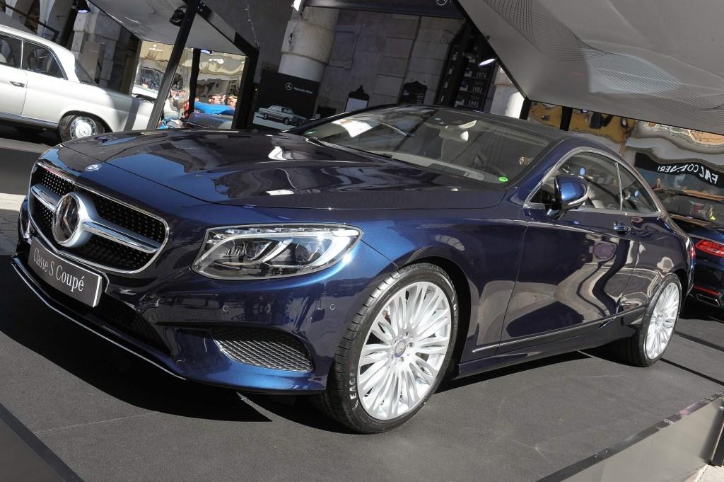 Mercedes Nuova Classe S Coupé