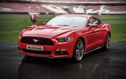 Ford Mustang: prenotazioni durante la finale Champions League