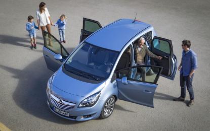 Opel Meriva auto ufficiale di mammacheBlog