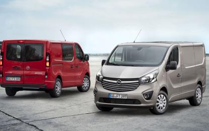 Opel Nuovo Vivaro e Movano