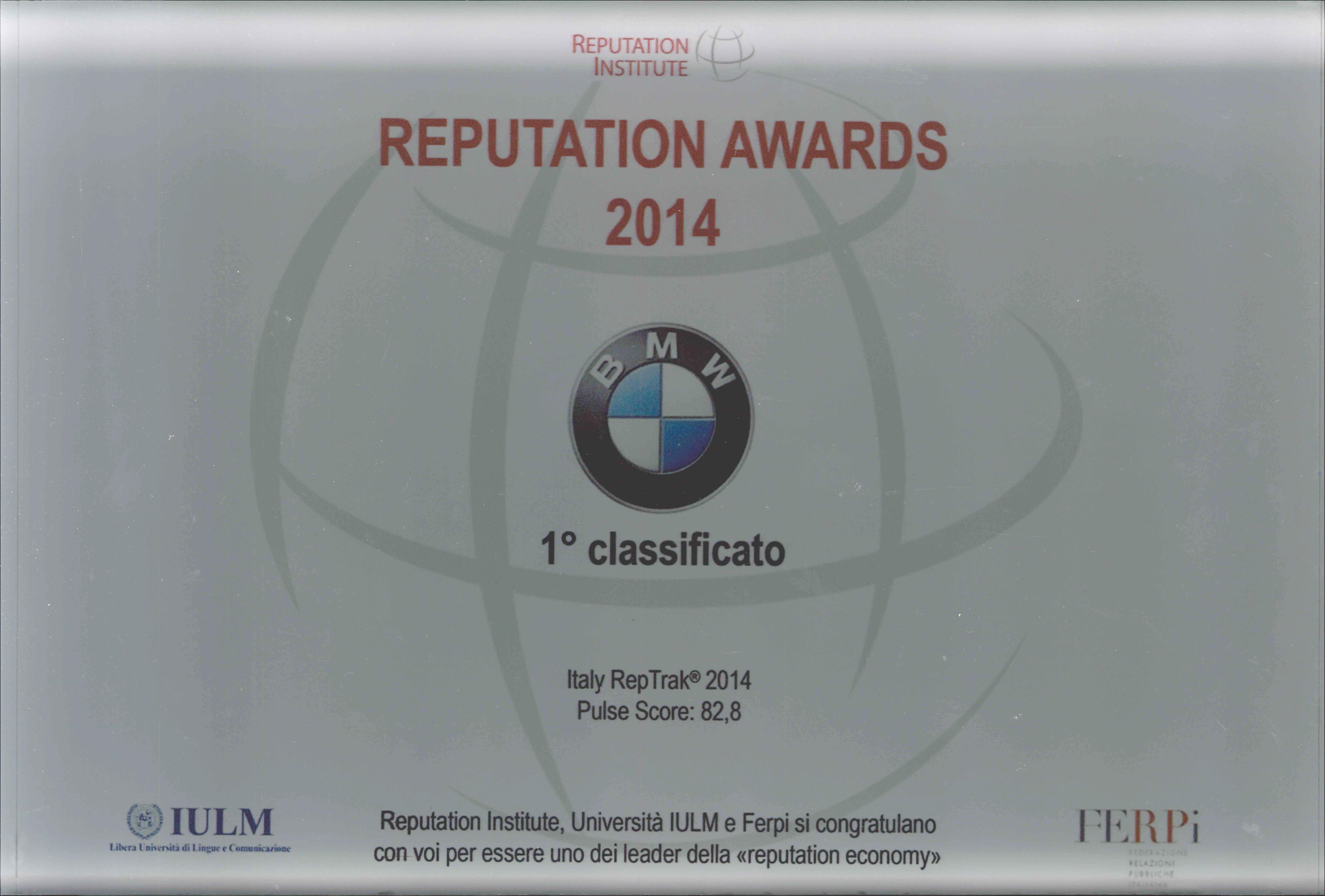 BMW azienda leader in Italia
