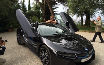 Nuova BMW i8 presentata in Diesel Farm