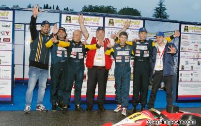 "Podio per il Team Minardi al ""Kart Memorial Senna″"