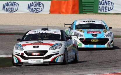 Peugeot RCZ: sfida tra giornalisti a Monza