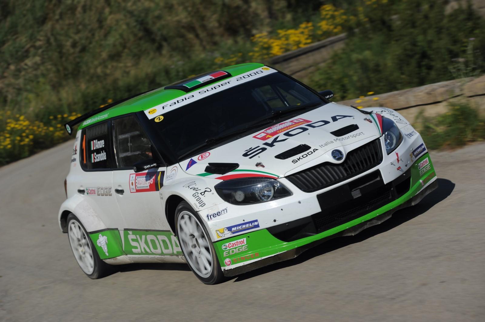 CIR: ŠKODA Italia Motorsport al 32° Rally Due Valli