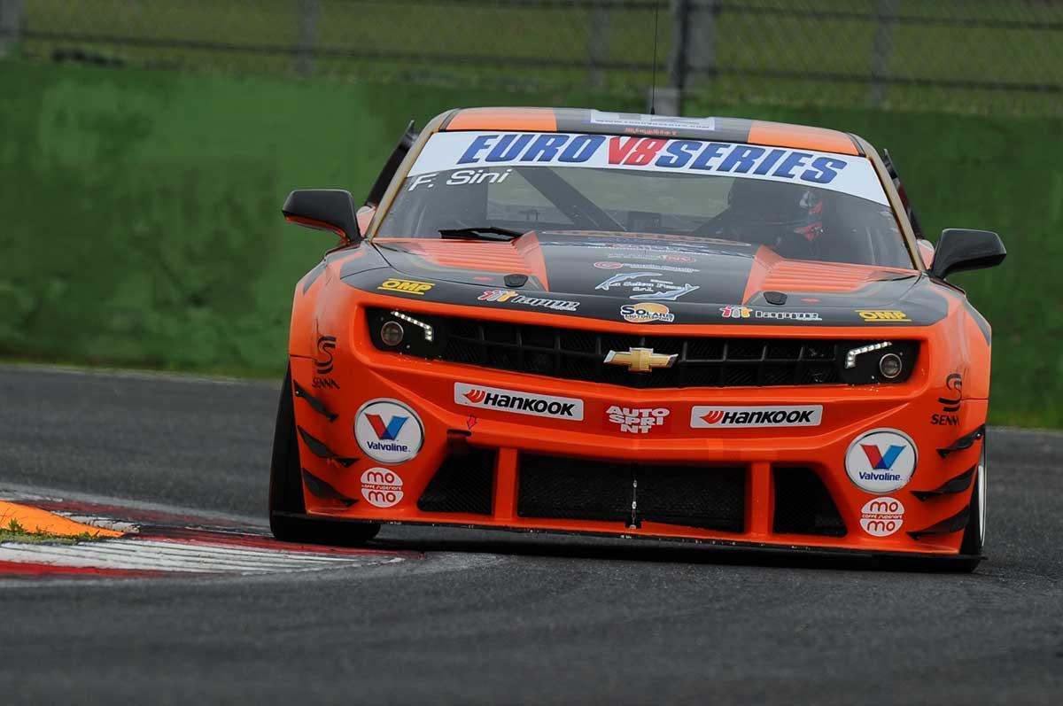 EUROV8SERIES: Gara 1 alla Chevrolet Camaro di Sini