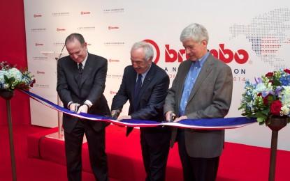 Brembo: un nuovo impianto negli USA