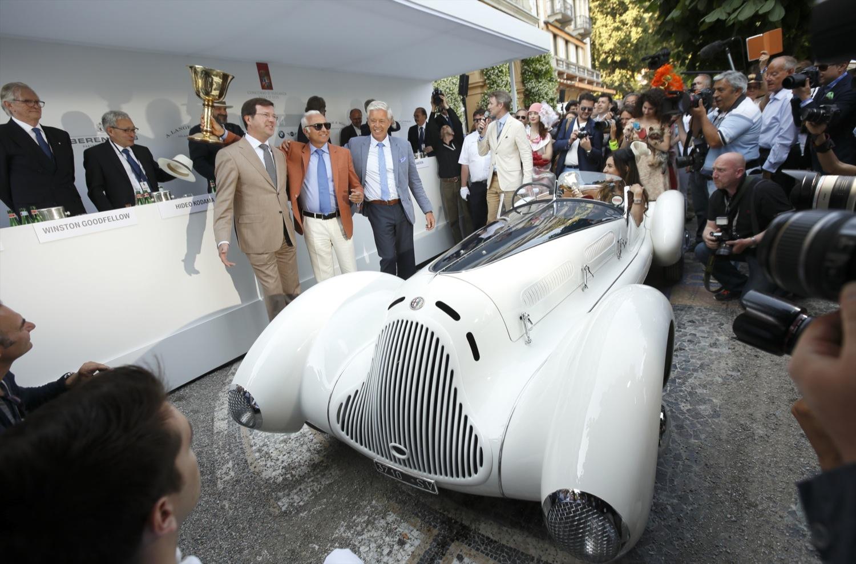 L'Alfa 6C 1750 GS vince la Coppa d'Oro a Villa d'Este