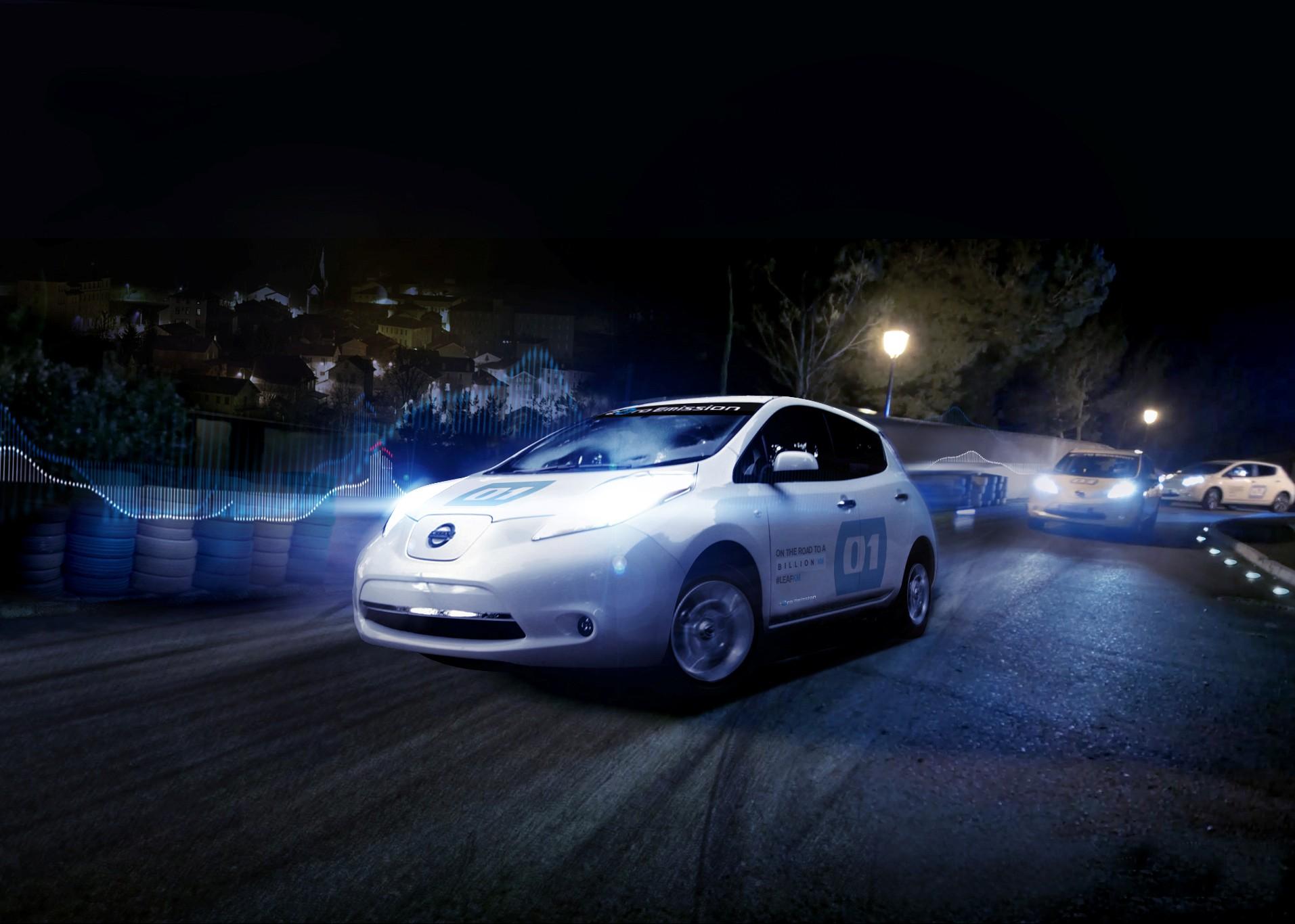 Nissan con LEAF contro il rumore