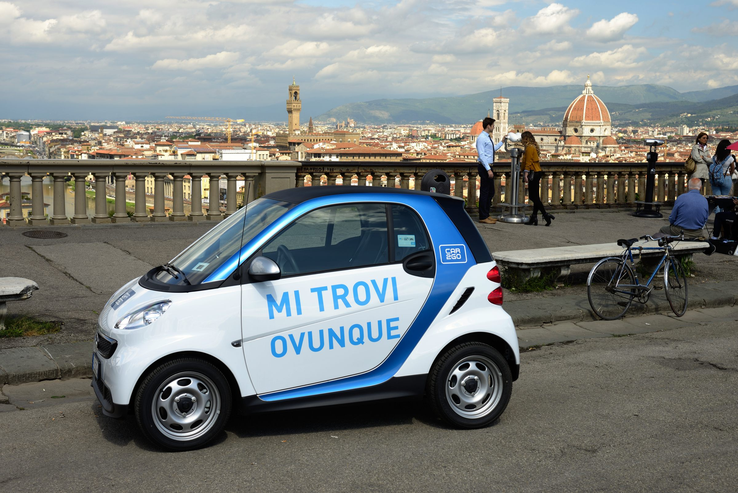 car2go, benvenuta Firenze