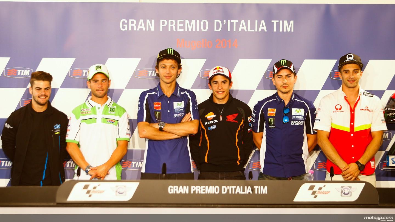 Motomondiale: i piloti danno il via al GP d'Italia