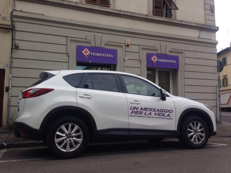 Mazda: un messaggio per la Viola