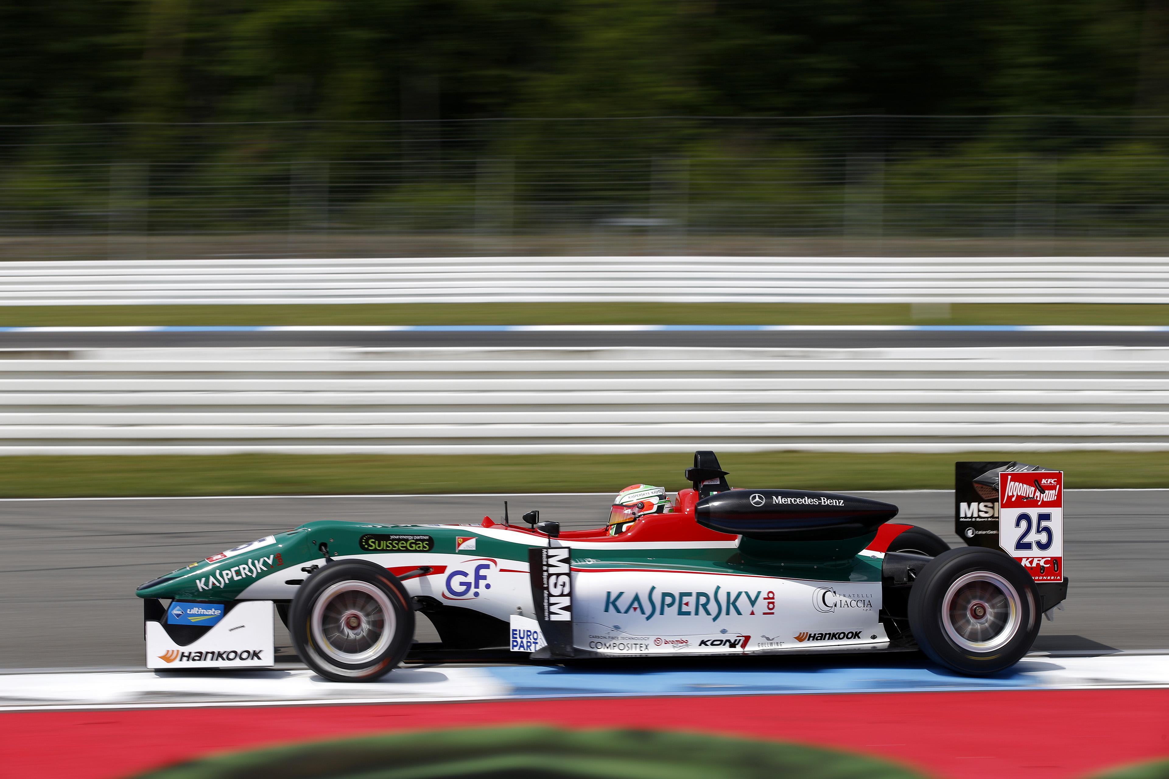 FIA F3: podio per Fuoco in Gara 3