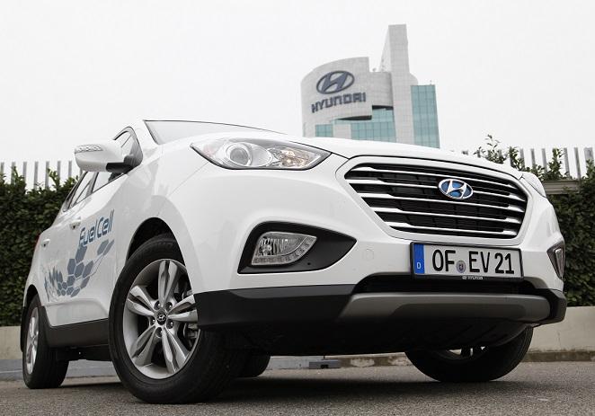 Hyundai ix35 a idrogeno per un progetto europeo