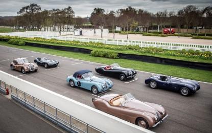 Jaguar: griglia d'eccezione alla Mille Miglia