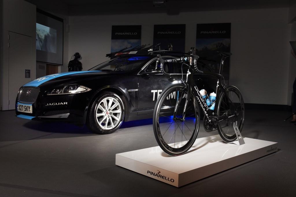Jaguar e Pinarello per il Tour de France