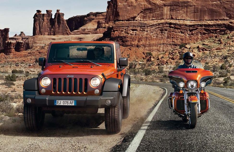 Jeep e Harley-Davidson a doppio filo nel 2014