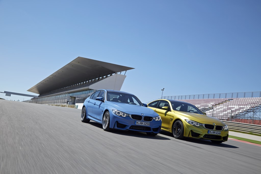 BMW nuove M3 berlina e M4 Coupé