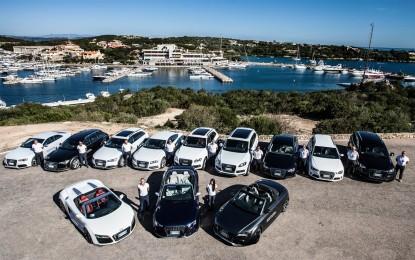 Audi torna allo Yacht Club Costa Smeralda