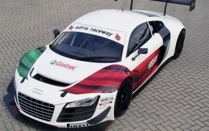 Di nuovo in pista la Audi R8 LMS ultra
