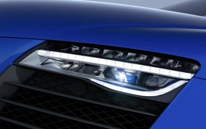 Audi R8 LMX: la prima con abbaglianti laser