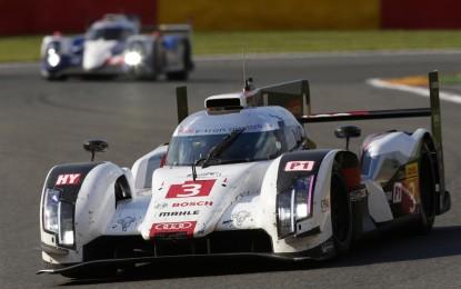 Audi si prepara alla 24 Ore di Le Mans 2014