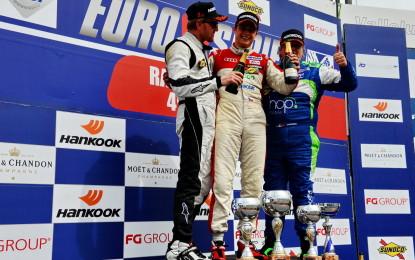 EUROV8SERIES: tripletta Audi in Gara 2