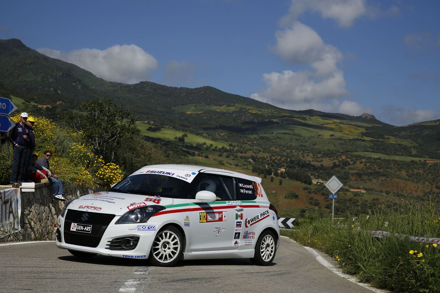 Suzuki Rally su due fronti nel weekend