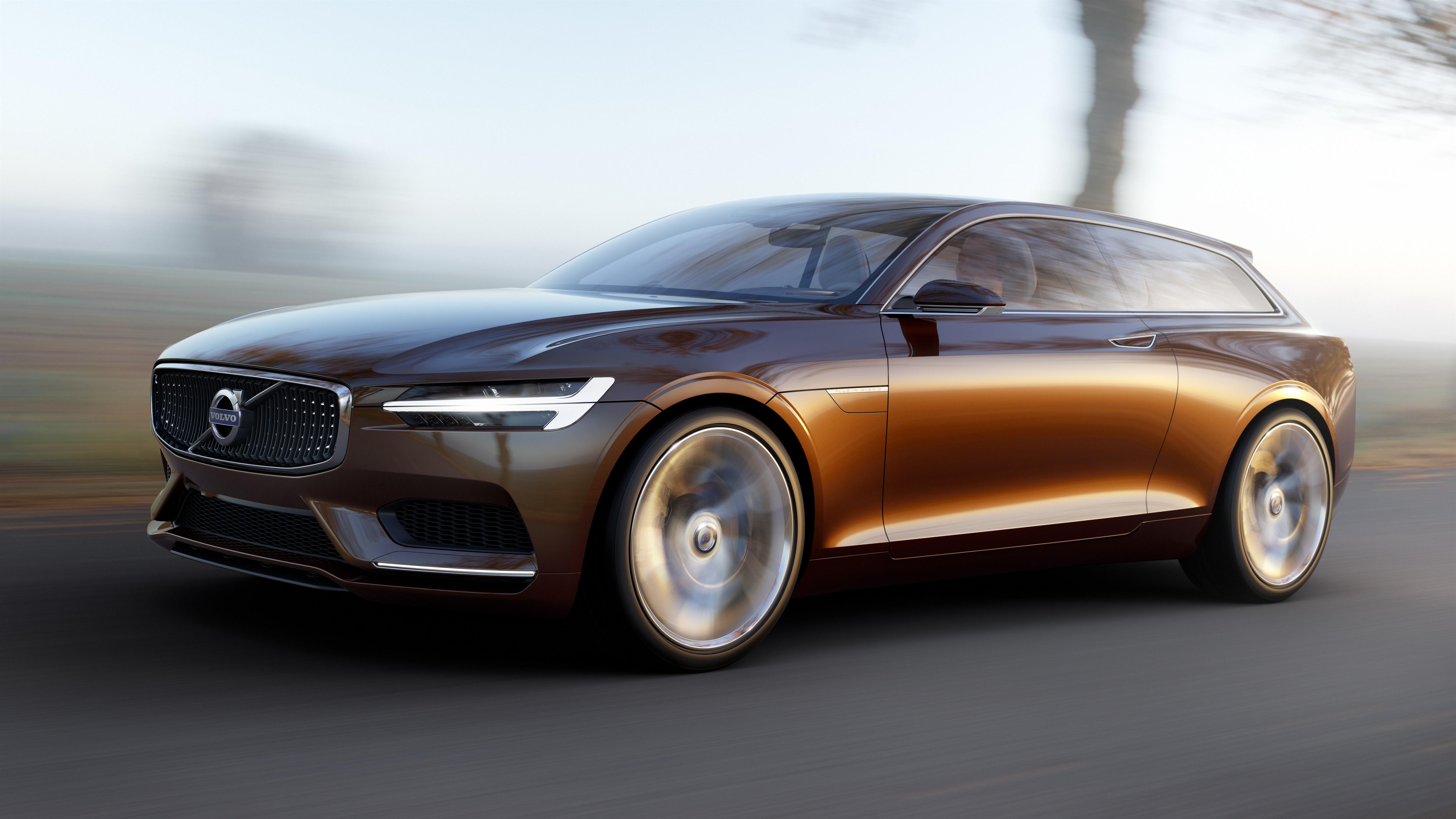 Volvo sfila a Villa d'Este con la Concept Estate