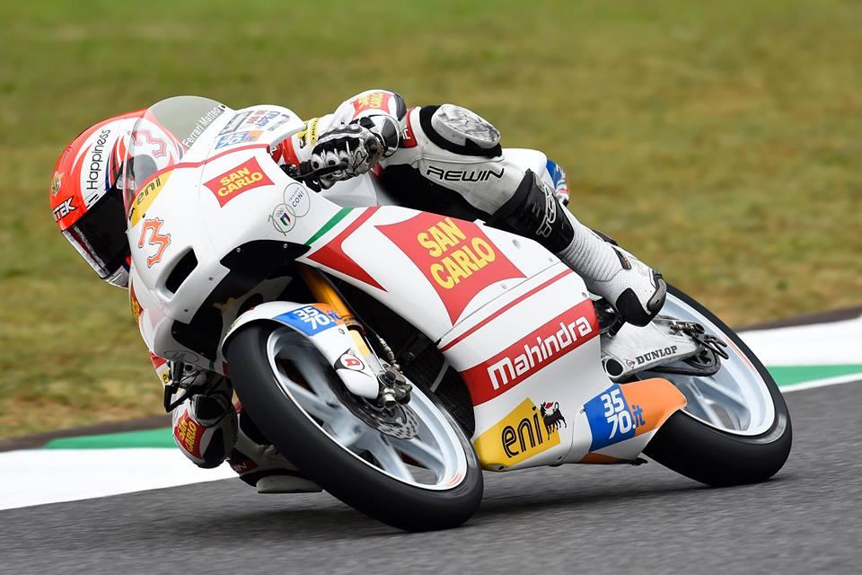 Moto3: primi punti per il San Carlo Team Italia