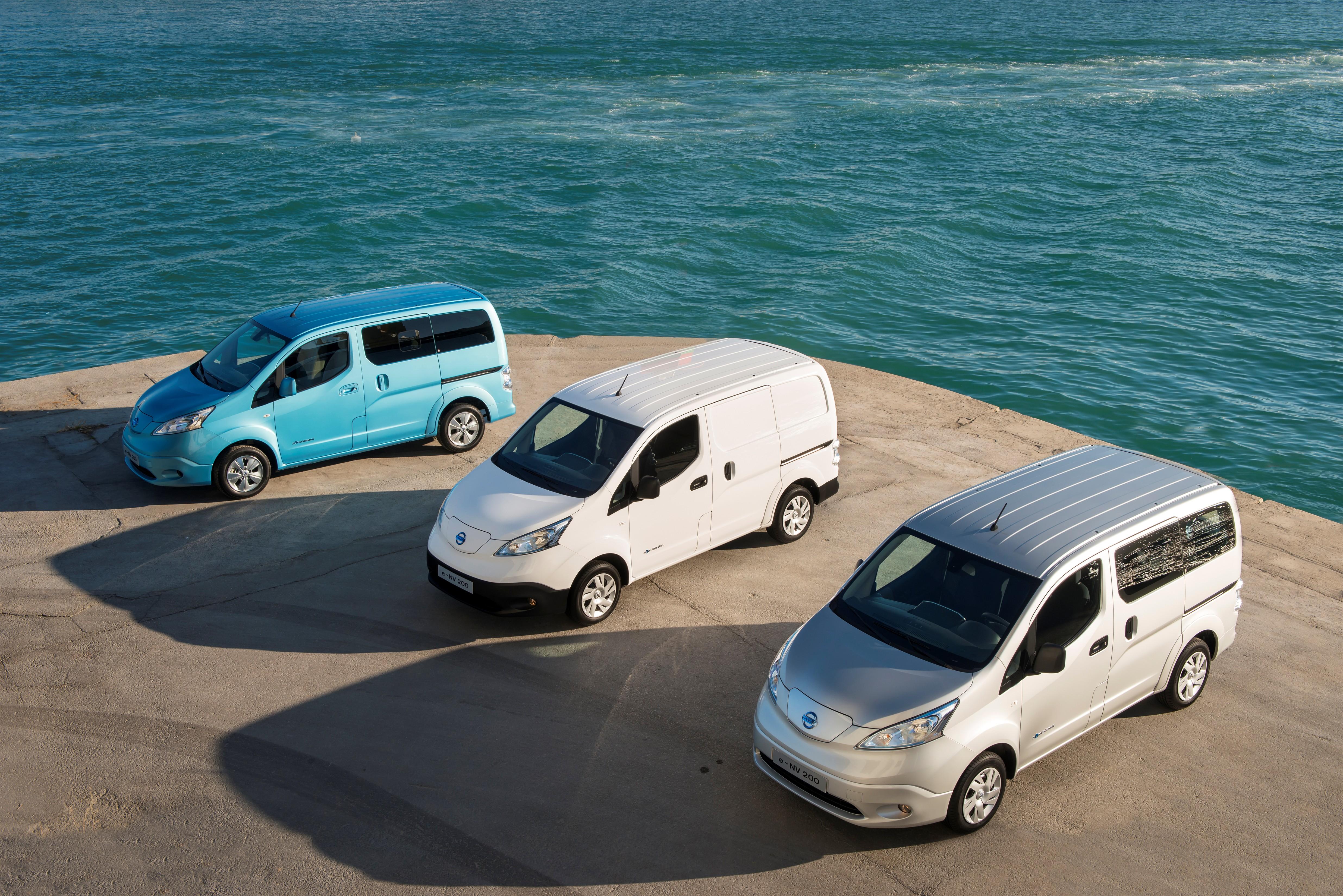 Nissan e-NV200: prezzo competitivo e bassi costi d'esercizio