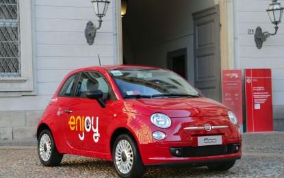 "Sbarca a Roma ""ENJOY"", il car sharing targato ENI"
