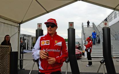 Canada: per Kimi 200 GP e un viaggio speciale