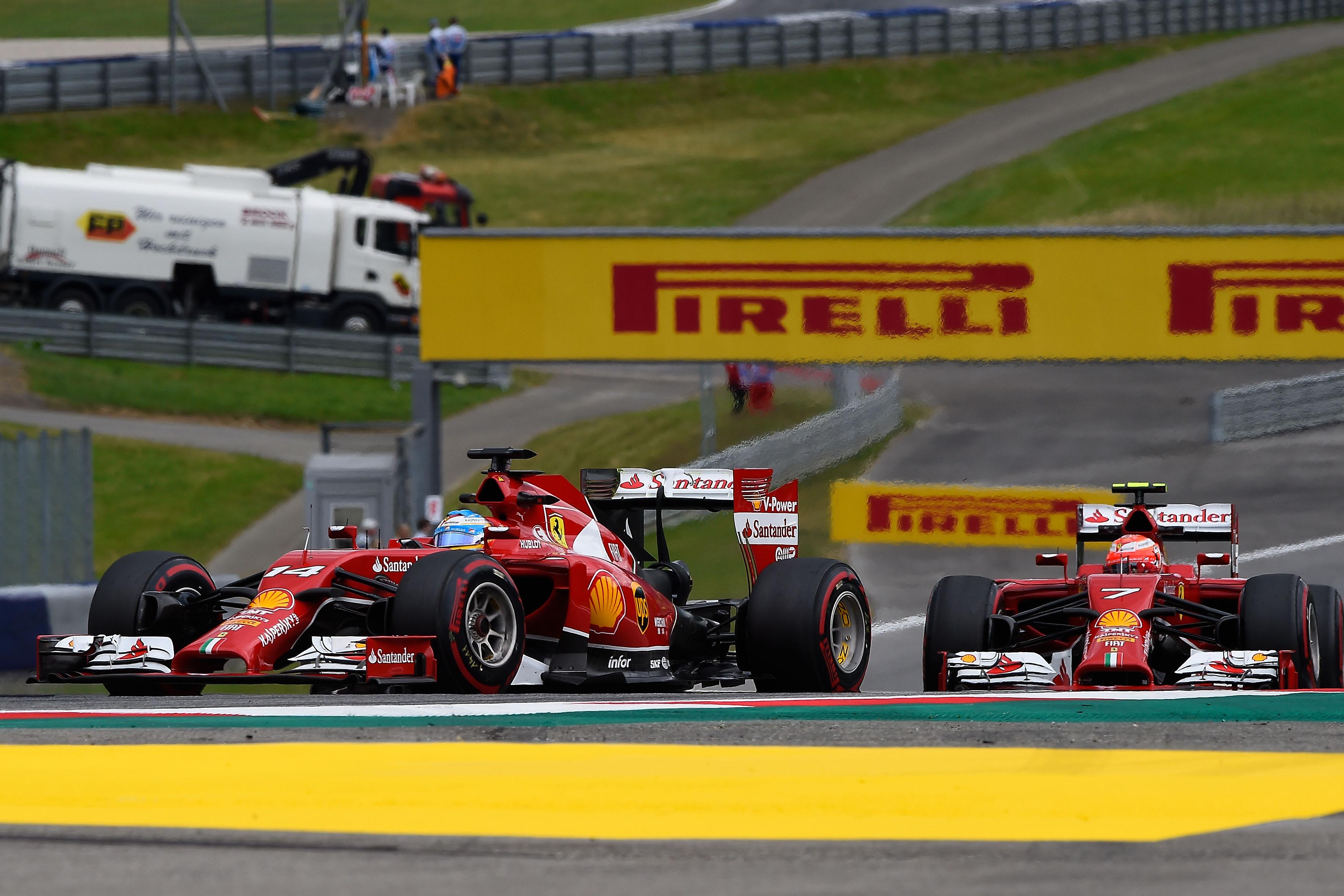 Ferrari: il punto sulle libere in Austria
