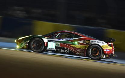 Le Mans: Fisichella, Bruni, Vilander al top