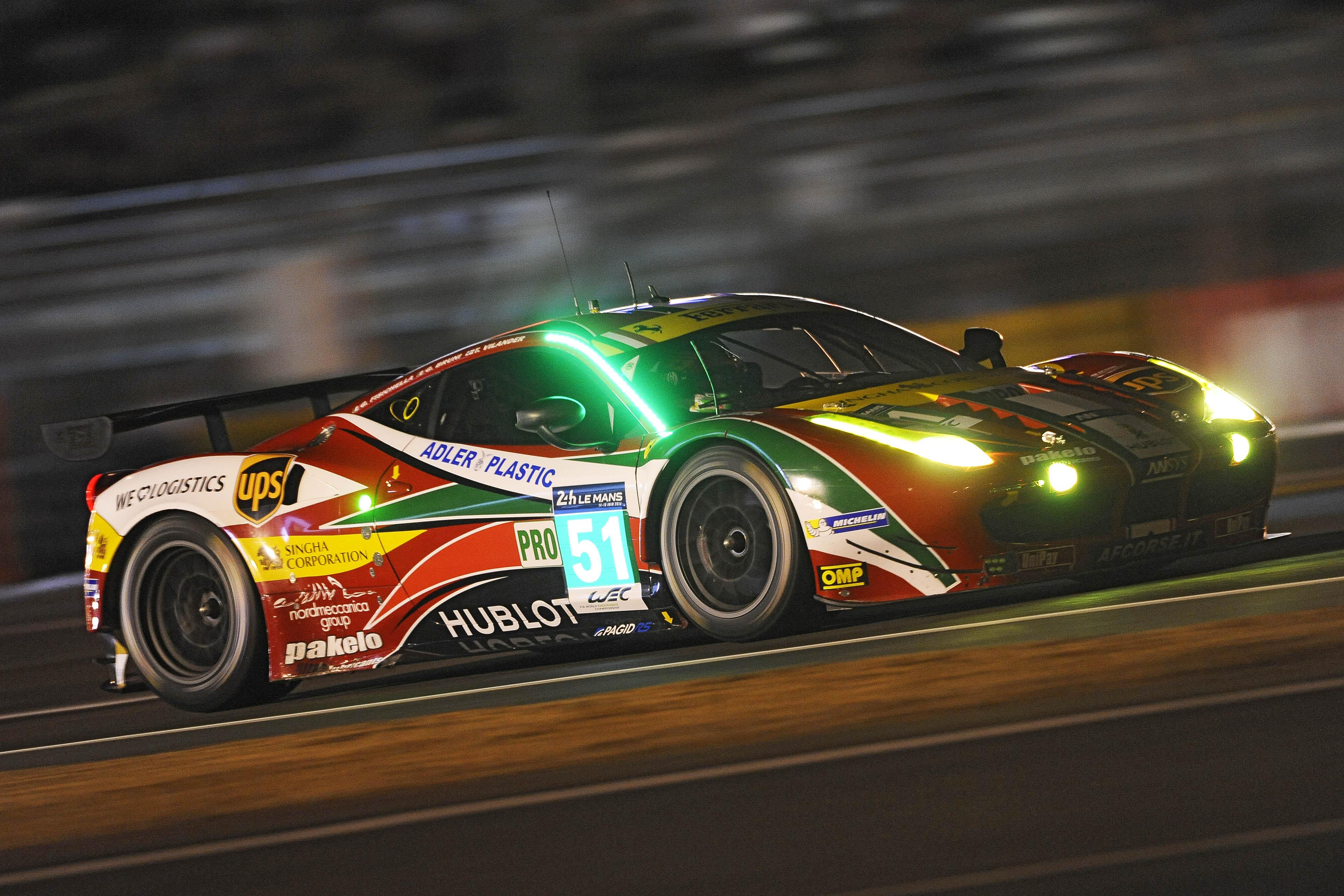 Le Mans: doppia pole per AF Corse