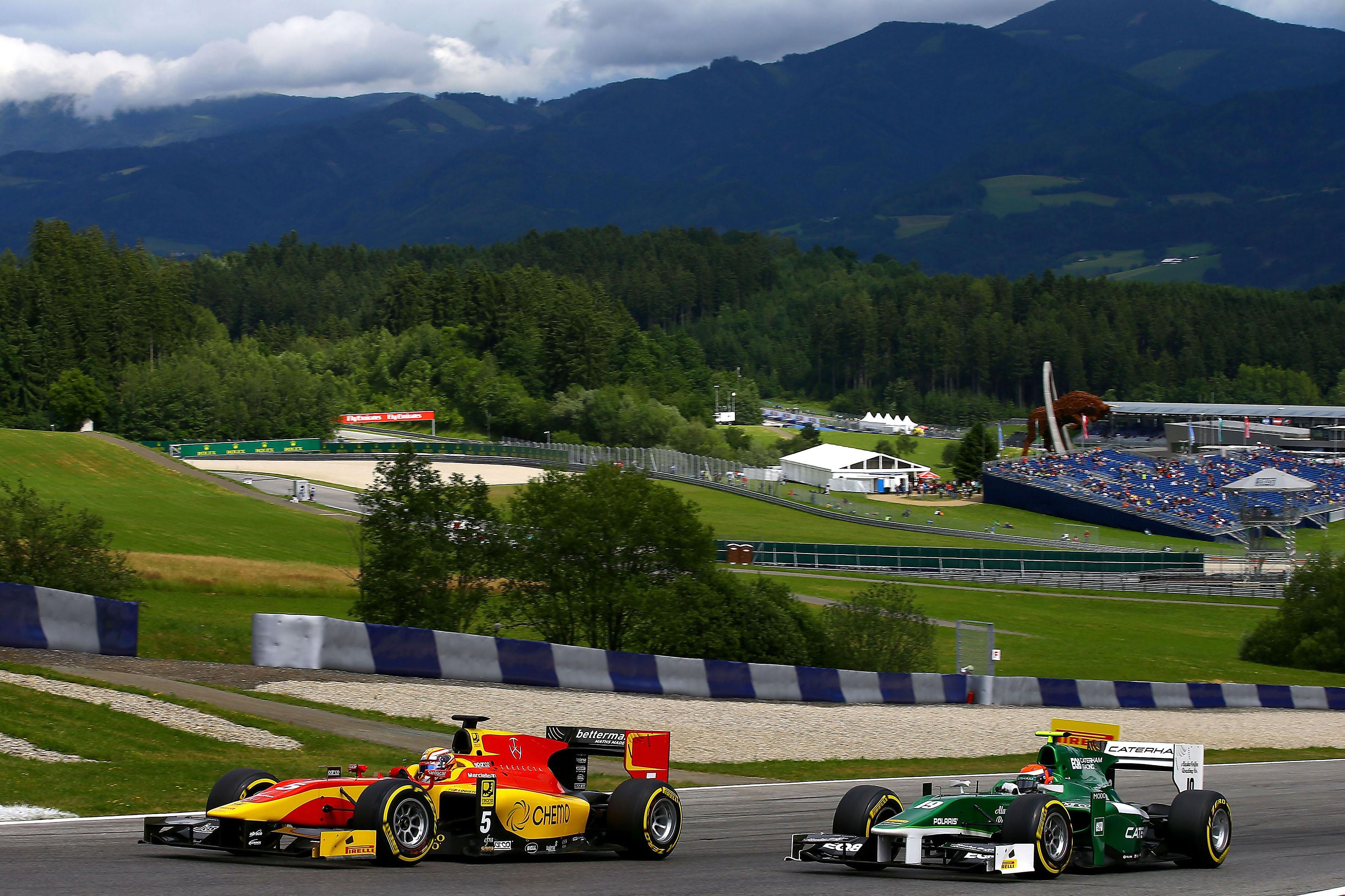 GP2 Series: doppio podio per Marciello