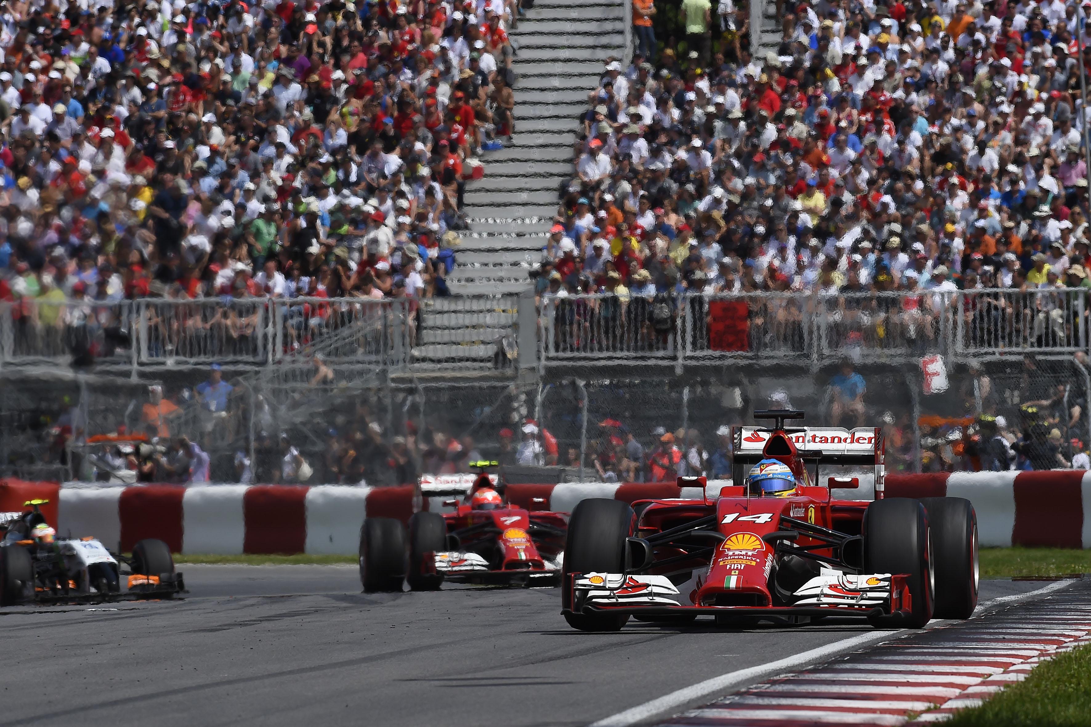 Ferrari in Austria, nella tana del lupo