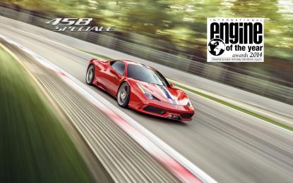 Motore Ferrari di nuovo premiato