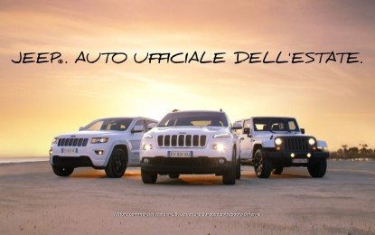 "Jeep ""Auto ufficiale dell'Estate"""