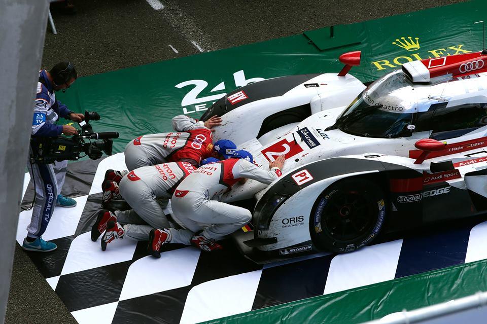 Le Mans: doppietta Audi e trionfo Ferrari