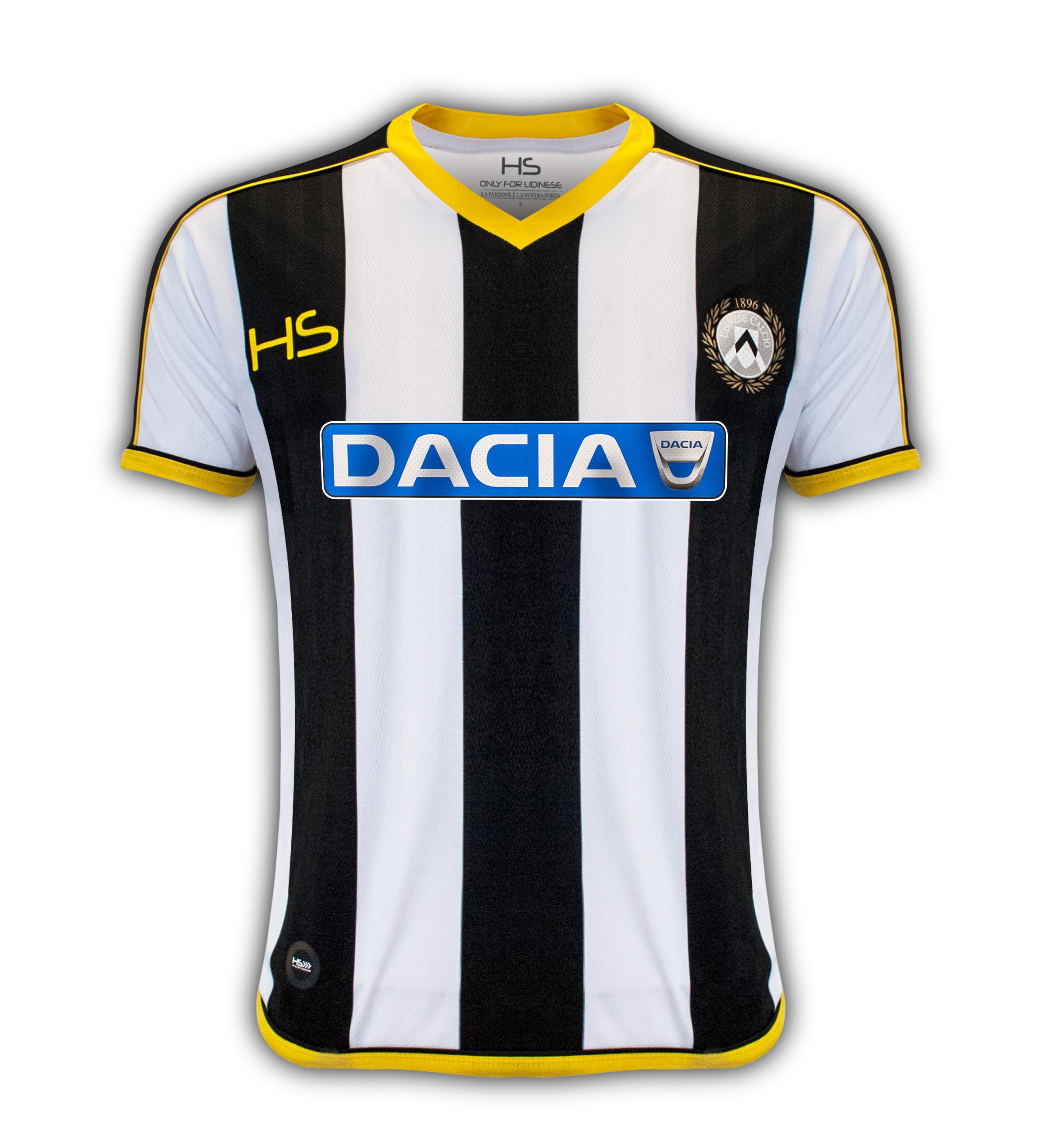 Dacia Main Sponsor dell'Udinese Calcio