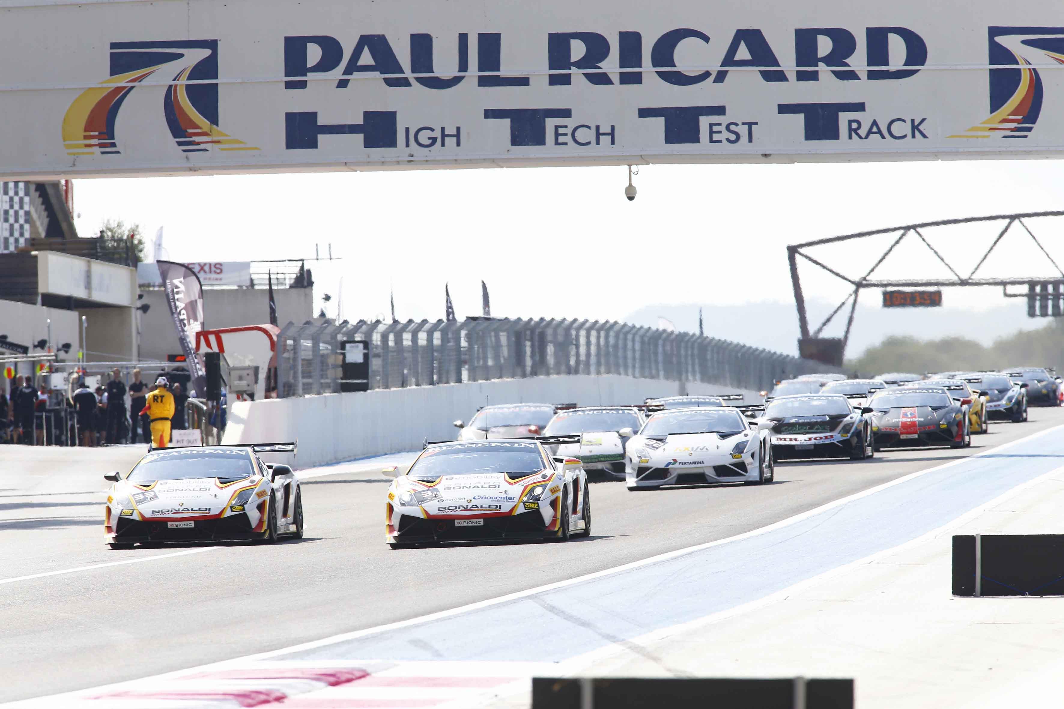Lamborghini: al Paul Ricard vincono Pavlovic-Piscopo e Mul
