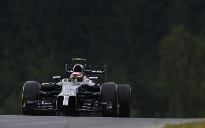 Punti per Magnussen in Austria