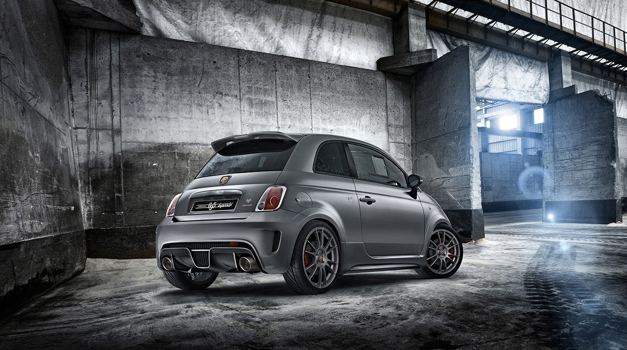 Abarth 695 biposto a Goodwood