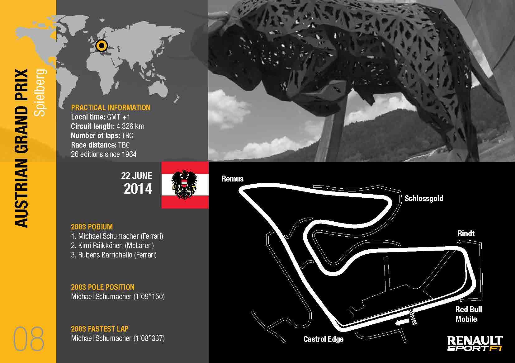 GP Austria: anteprima Renault Sport
