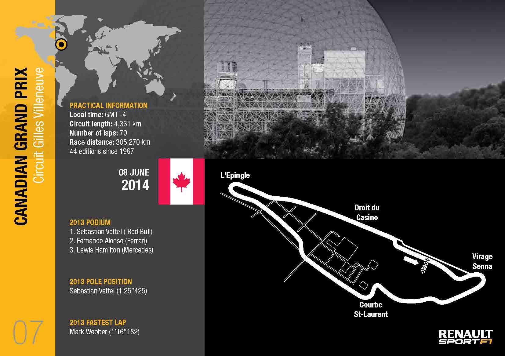 Renault Sport: l'anteprima del GP del Canada