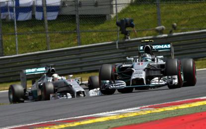 Austria: Nico, Lewis, Valtteri e Felipe, trionfo Mercedes