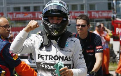 Canada: una pole per uno, tocca a Rosberg