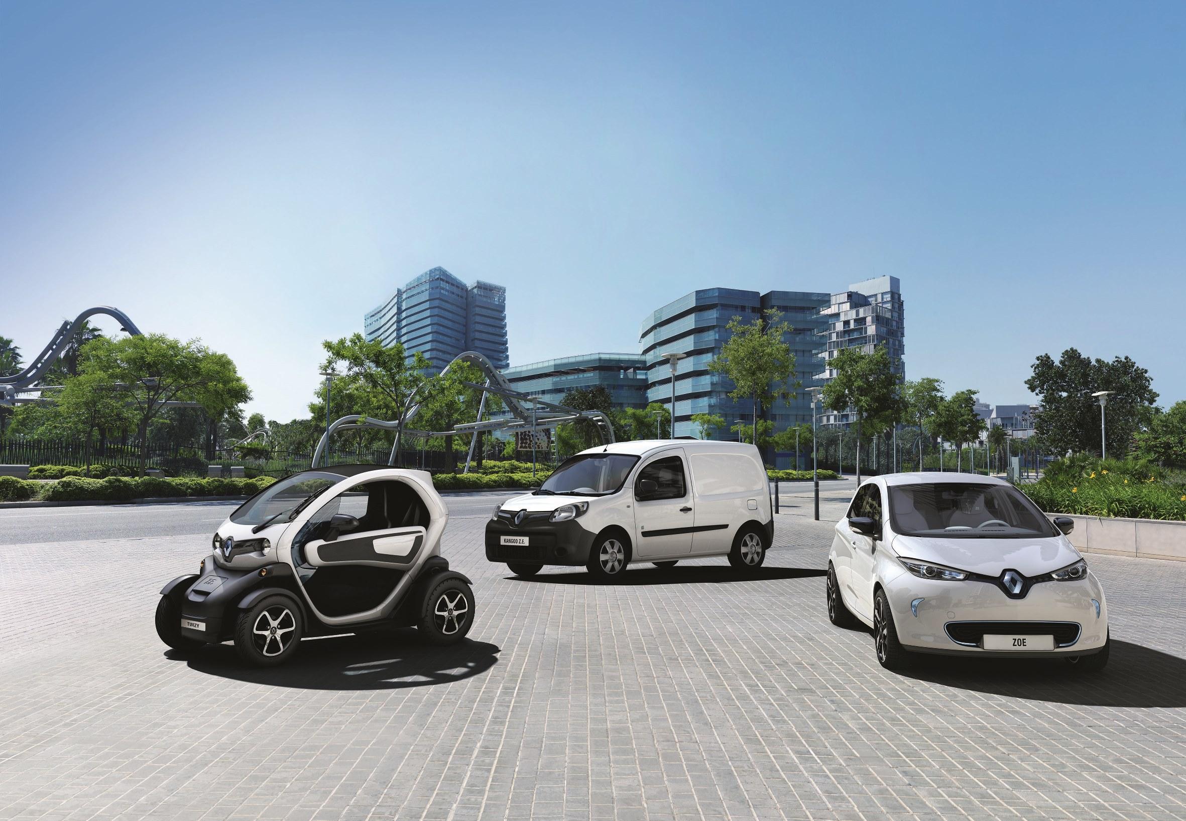 Il car sharing sostenibile secondo Renault